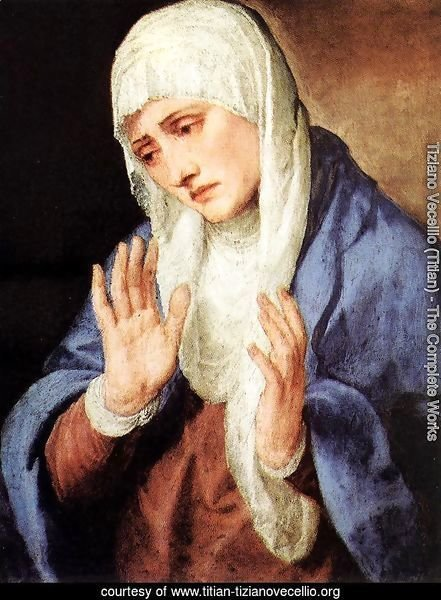 Mater Dolorosa (with outstretched hands) 1554