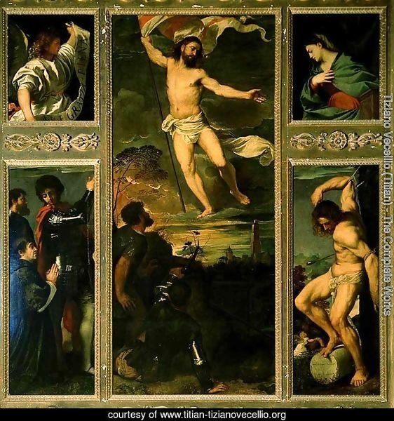 Polyptych of the Resurrection 1520-22