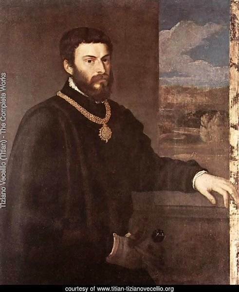 Portrait of Count Antonio Porcia c. 1548
