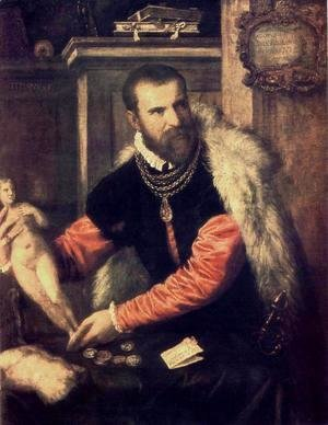 Portrait of Jacopo Strada 1567-68