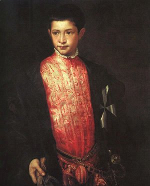 Portrait of Ranuccio Farnese 1542