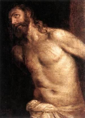 Tiziano Vecellio (Titian) - The Scourging of Christ c. 1560