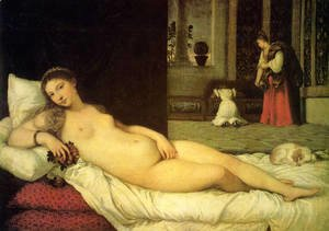 The Venus of Urbino 1538