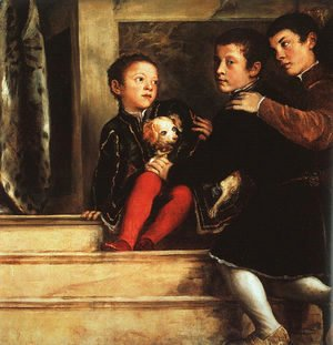 Votive Portrait of the Vendramin Family 1547