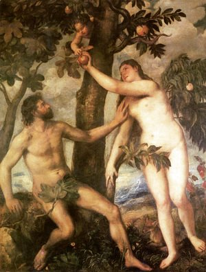 Tiziano Vecellio (Titian) - The Fall of Man