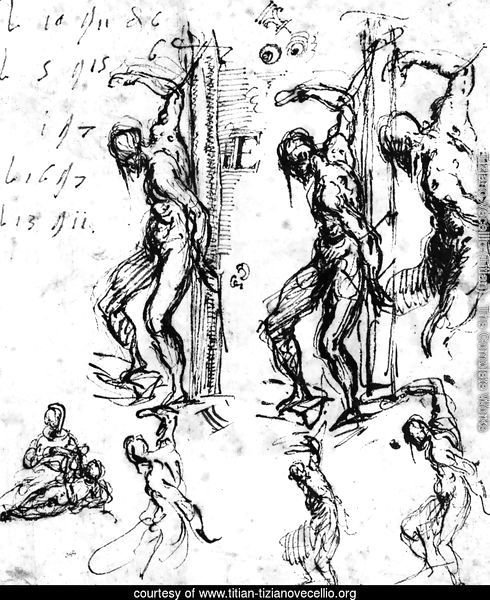 Studies of Saint Sebastian