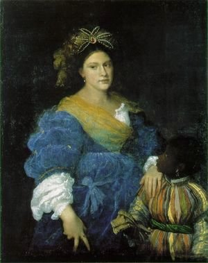 Portrait of Laura de Dianti