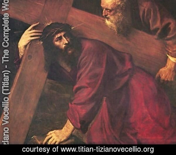 Tiziano Vecellio (Titian) - Christ Carrying the Cross 1