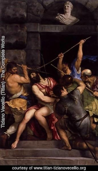 Tiziano Vecellio (Titian) - Crowning with Thorns 2