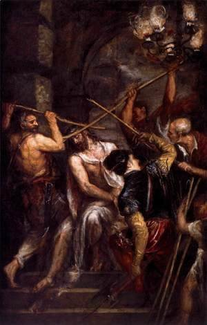 Tiziano Vecellio (Titian) - Crowning with Thorns