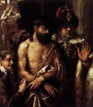 Tiziano Vecellio (Titian) - Mocking of Christ