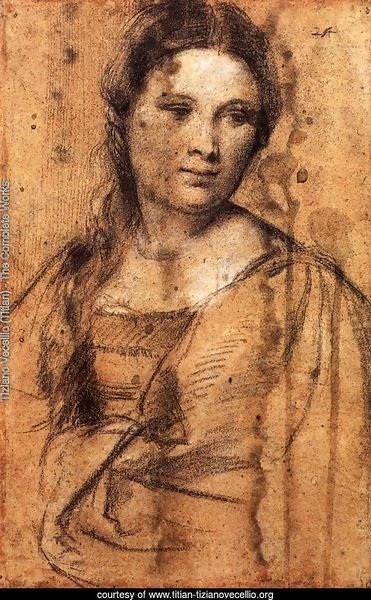 Portrait of a Young Woman (draw)