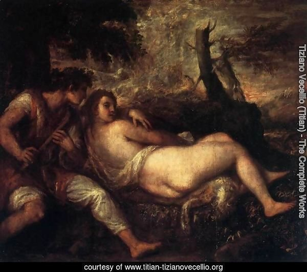 Shepherd and Nymph