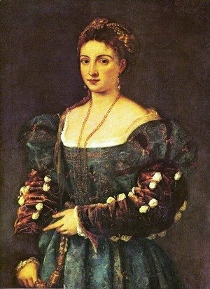 Tiziano Vecellio (Titian) - The beauty
