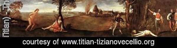 Tiziano Vecellio (Titian) - The Legend of Polydorus