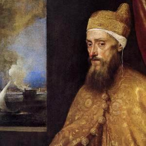 Portrait of the Doge Francesco Venier (detail)