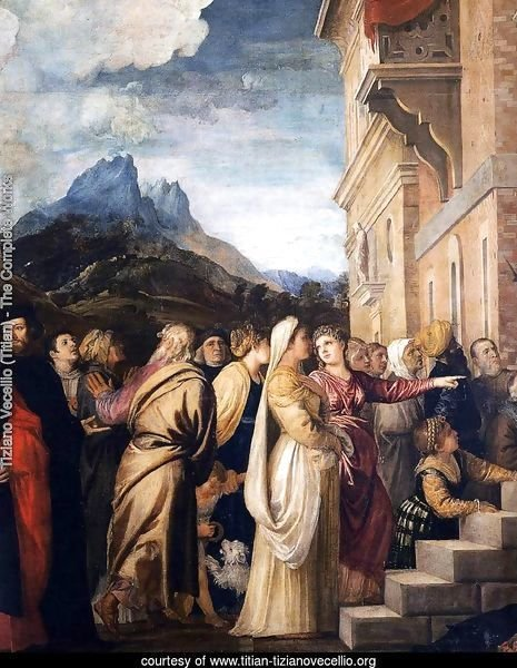 Presentation of the Virgin at the Temple (detail 2)