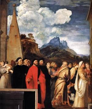 Presentation of the Virgin at the Temple (detail 7)