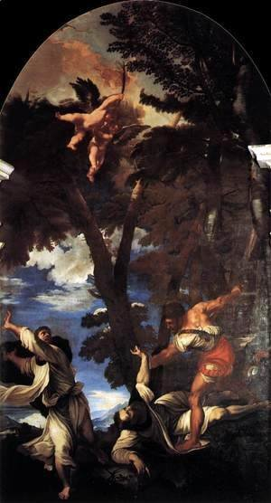 Tiziano Vecellio (Titian) - The Death of St Peter Martyr 2