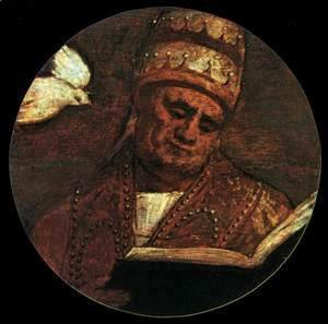 Tiziano Vecellio (Titian) - St Gregory the Great 2