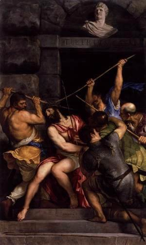 Tiziano Vecellio (Titian) - Crowning with Thorns 3
