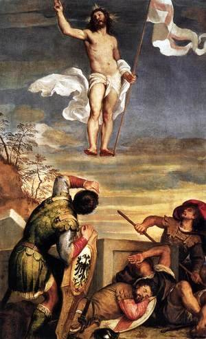 Tiziano Vecellio (Titian) - The Resurrection 2