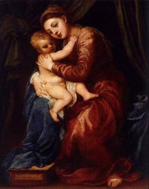 Virgin and Child 2