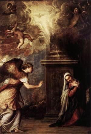 Tiziano Vecellio (Titian) - The Annunciation 2