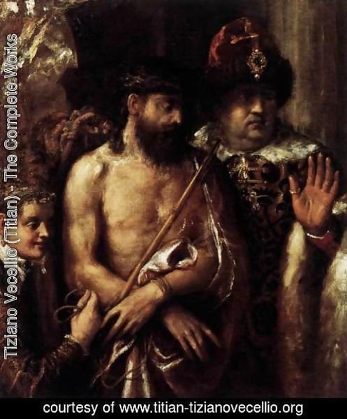 Tiziano Vecellio (Titian) - Mocking of Christ 2