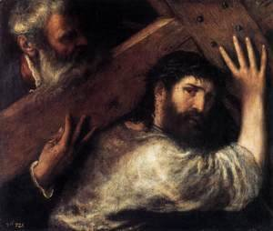 Tiziano Vecellio (Titian) - Christ Carrying the Cross 4