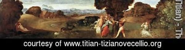 Tiziano Vecellio (Titian) - The Birth of Adonis 2