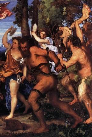 Bacchus and Ariadne (detail) 2