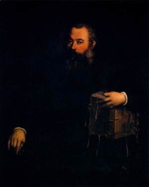 Portrait of Andreas Vesalius