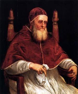 Portrait of Pope Julius II 2