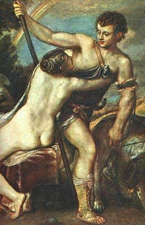 Venus And Adonis Detail After 1560