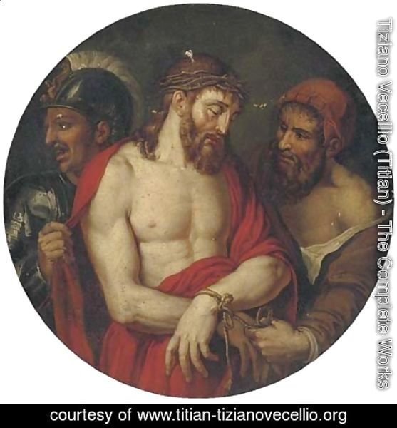 Tiziano Vecellio (Titian) - Christ crowned with thorns 2