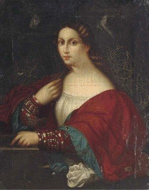 Portriat of a lady, half-length