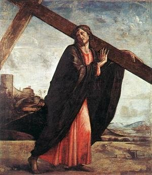 Tiziano Vecellio (Titian) - Christ Carrying The Cross