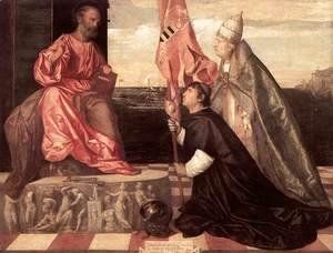 Pope Alexander IV Presenting Jacopo Pesaro To St Peter