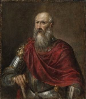 Tiziano Vecellio (Titian) - Portrait Of An Admiral, Probably Francesco Duodo (1518-1592)