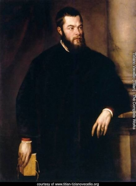 Portrait of Benedetto Varchi