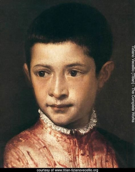 Portrait of Ranuccio Farnese (detail)