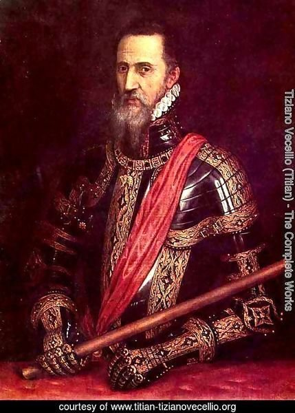 Portrait of Don Fernando Alvarez of Toledo, Grand Duke of Alba