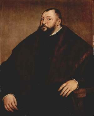 Portrait of the Great Elector John Frederick of Saxony