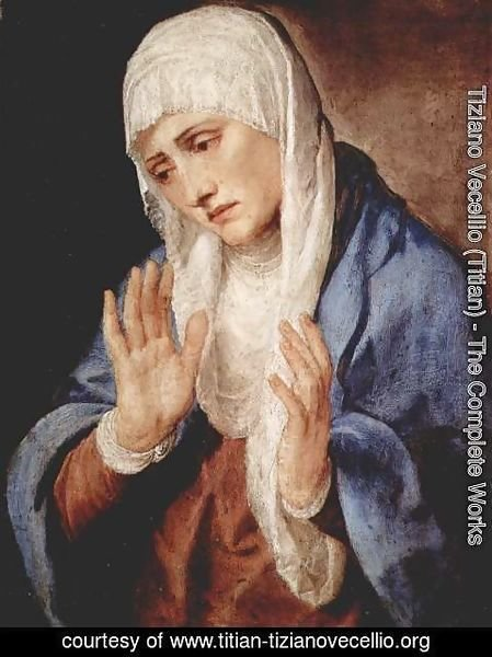 Tiziano Vecellio (Titian) - Our Lady of Sorrows