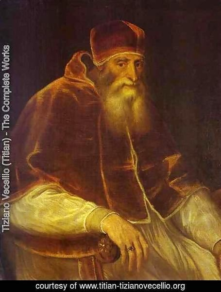 Portrait of Pope Paul III 2