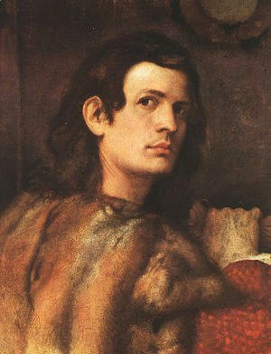 Tiziano Vecellio (Titian) - Portrait of a Man Munich